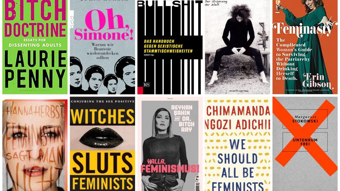10 Feministische Bücher, die ihr lesen solltet
