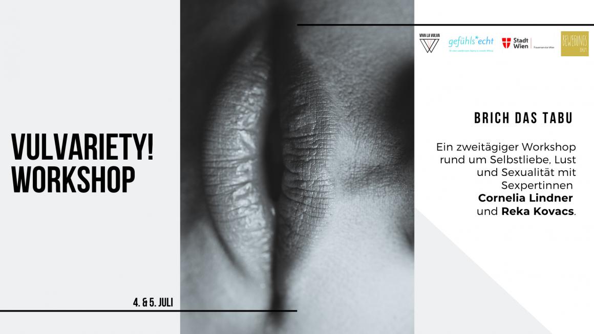 Bewirb dich jetzt für unseren Vulvariety! Workshop