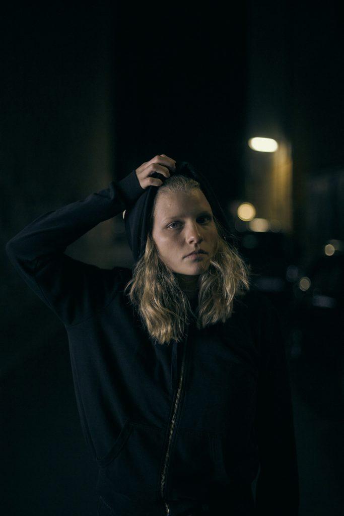Fotoshooting mit Alida Stricker (Clara) in Berlin.