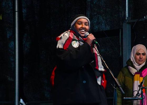 SIHAAM ABDILLHAHI, auch bekannt als: The Angry Black Womxn