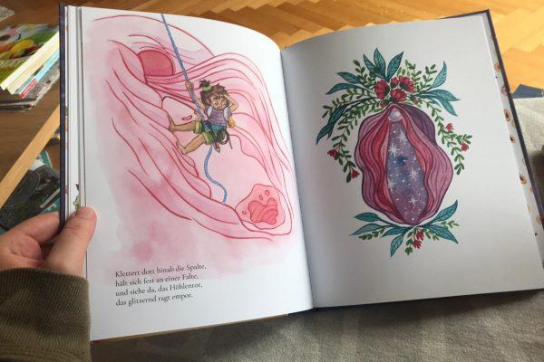 Lina, die Entdeckerin – die Vulva im Rampenlicht