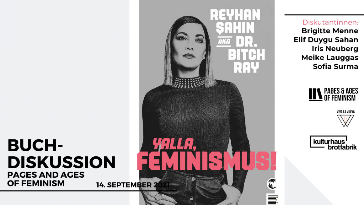 Yalla, Feminismus! Buchdiskussion – Pages & Ages of Feminism